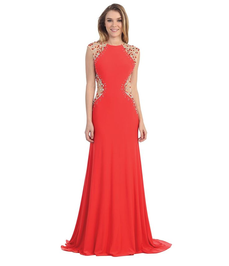 Scarlet Red Bridesmaid Dresses New Jersey
