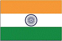 NATIONAL FLAG OF INDIA- (1) The design of the National Flag was adopted by the Constituent Assembly of Sovereign India on 22.07.1947. (2) The Flag is a horizontal tricolour of saffron at the top, white in the middle and green at the bottom. (3) The ratio of the width of the National Flag to its length is 2:3. (4)The wheel at the centre has 24 spokes and is navy blue in colour. (5) Flag code of India, 2002 governs the display of National Flag.