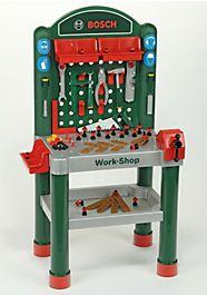 Werkbank für Kinder inkl. Zubehör, Klein Theo, »BOSCH«-Work-Shop - Mode enfant