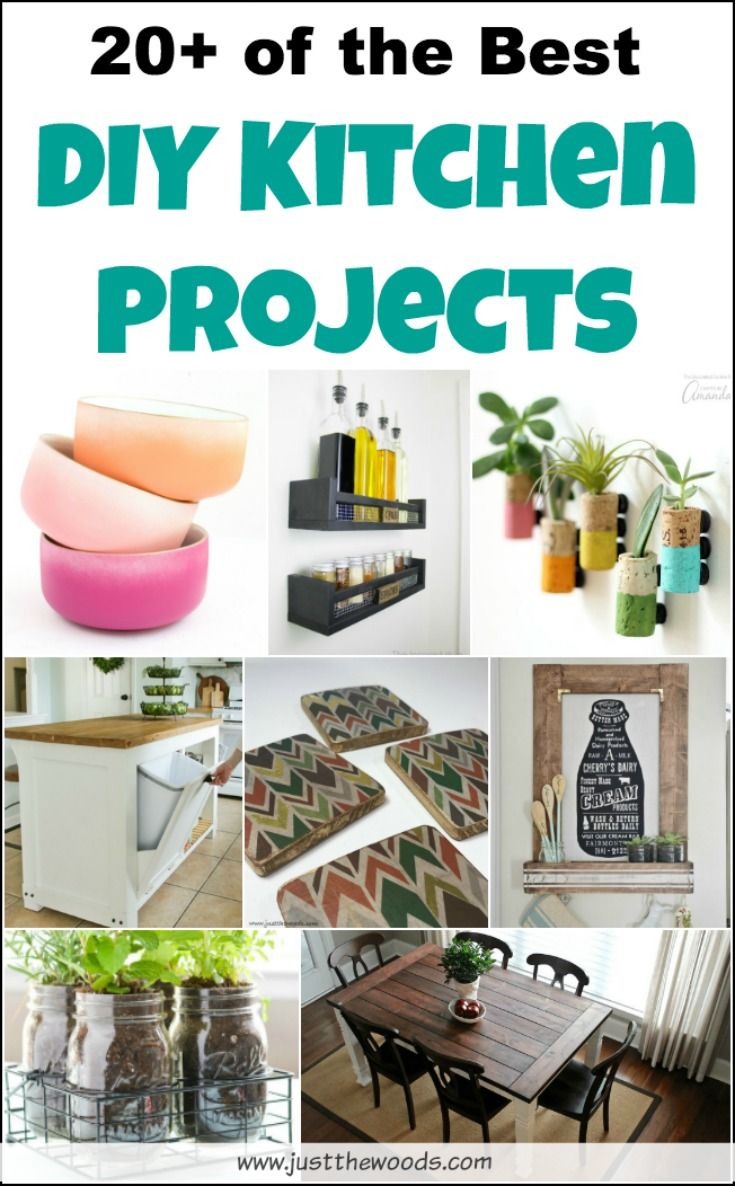 20 Diy Kitchen Projects For You To Spruce Up Your Home Free Plans