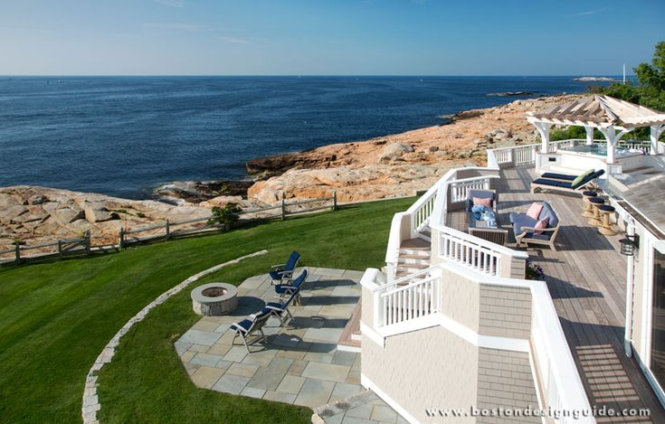 1000 images about waterfront living on pinterest for Capstone exterior design firm