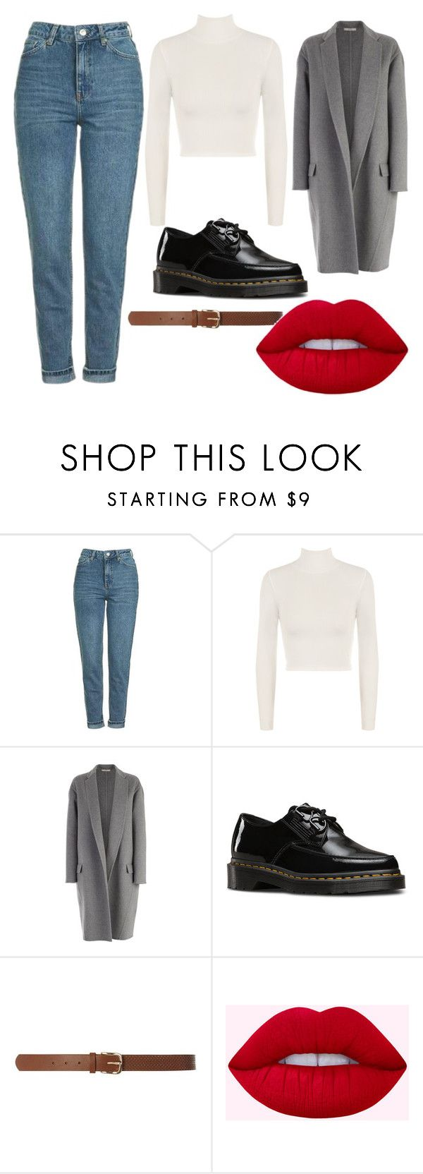 """Noora Skam"" by eleanorhooper ❤ liked on Polyvore featuring Topshop, WearAll, CÉLINE, Dr. Martens, Dorothy Perkins, noora and skam"