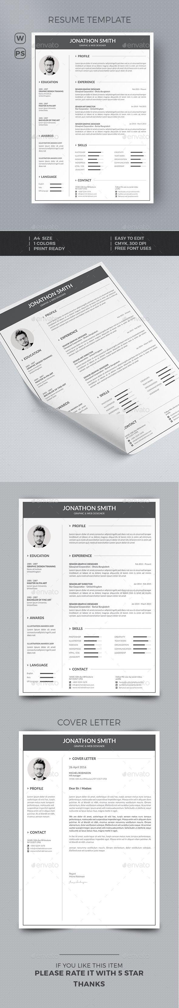 25 unique professional profile resume ideas on pinterest resume