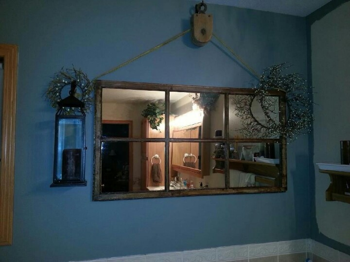 1000 images about pulley decor on pinterest hooks for Decorating with pulleys