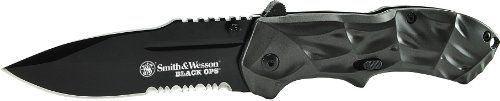 Special Offers - Smith & Wesson SWBLOP3S Ops M.A.G.I.C. Assisted Opening Liner Lock Folding Knife Black - In stock & Free Shipping. You can save more money! Check It (May 26 2016 at 08:56AM) >> http://foldingsurvivalknife.net/smith-wesson-swblop3s-ops-m-a-g-i-c-assisted-opening-liner-lock-folding-knife-black/