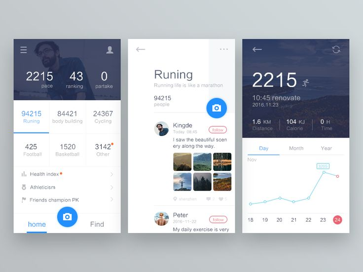 Sports  Runing by kingde #Design Popular #Dribbble #shots