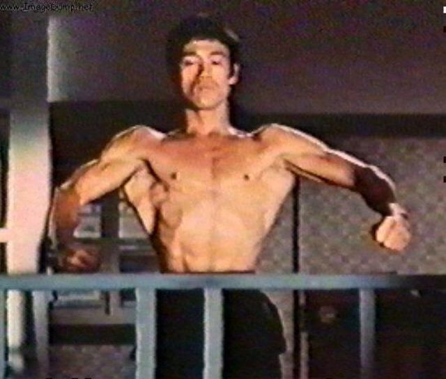 Social environment: due to cultural background, those of Asian ethnicity may aspire to become like Bruce Lee . Individual: those with Asian ethnicity are more likely to be motivated due to cultural background.