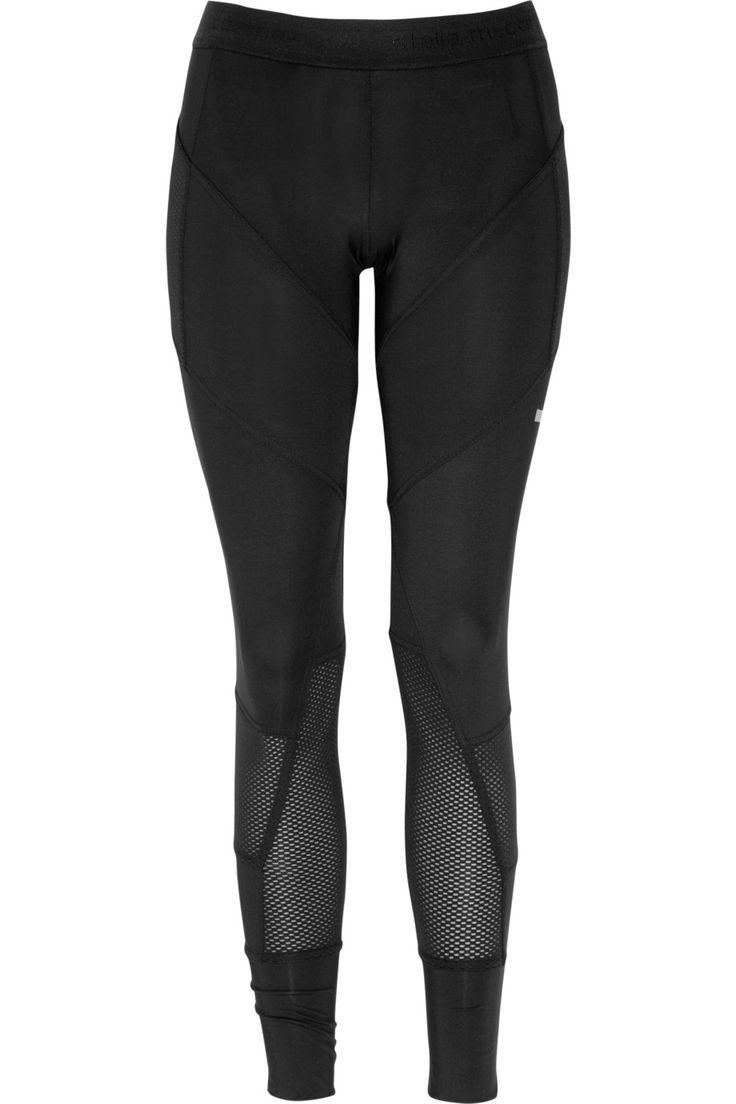 Run Stretch Cropped Leggings: Adidas by Stella McCartney