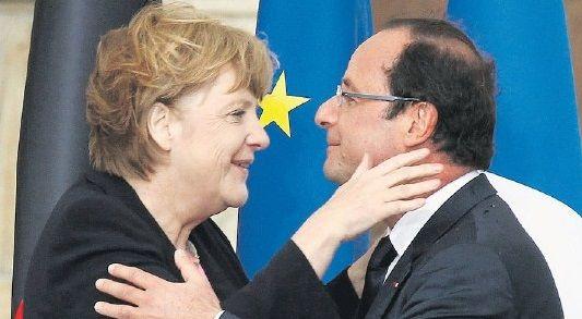 Frau Merkel & Monsieur Hollande