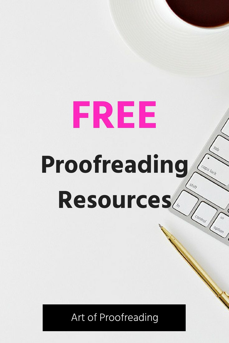 Start Your Proofreading Training With The Free Proofreading Exercises And Resources From Art Of Proofreading S Freelance Writing Proofreader Proofreading Jobs