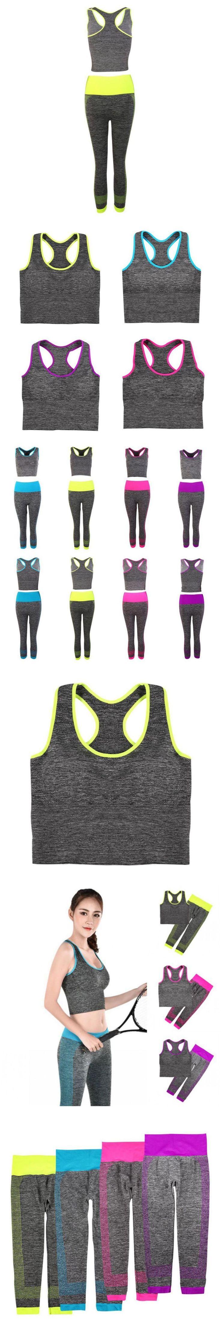 Liva girl Fashion New Corset  Pants Set Fitness Women's 2 Pieces Fitness Set Workout Bra Pants Leggings Set