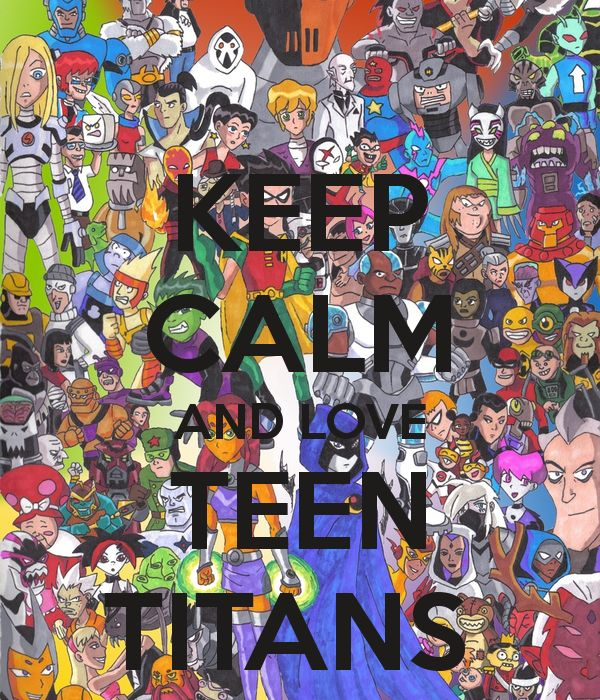 love the Teen Titans!! The anime, not the weird Teen Titans GO thing.