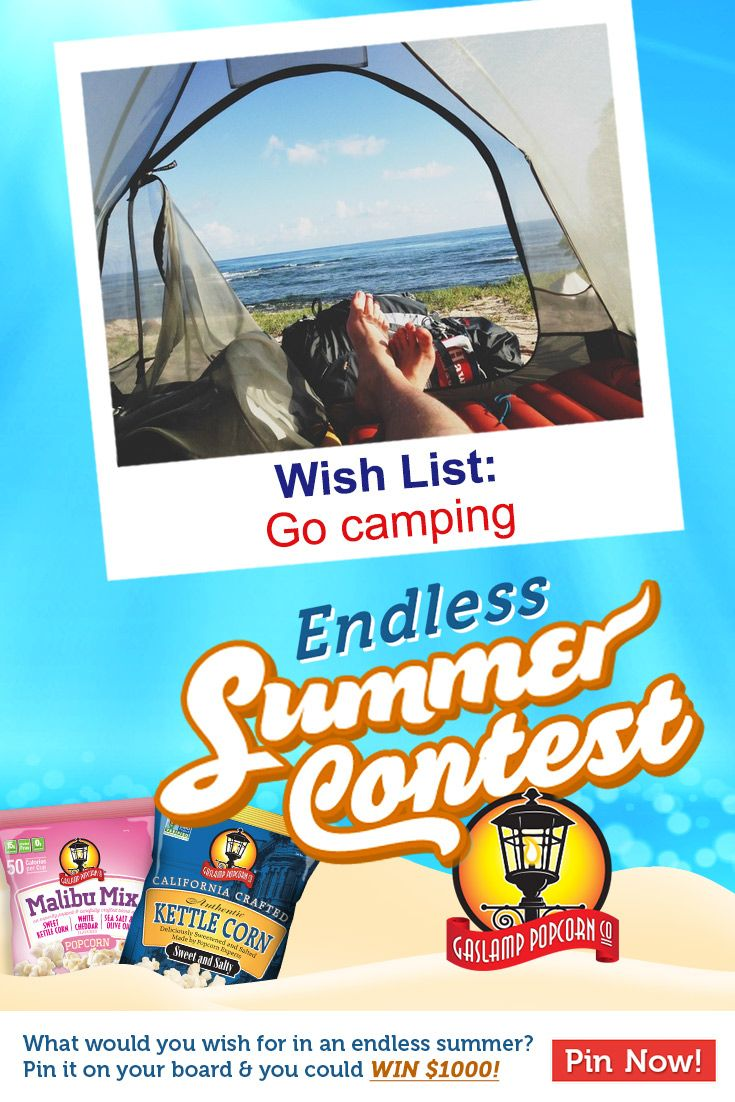 What would you wish for in an endless summer?  Pin it on our board & you could win $1000!