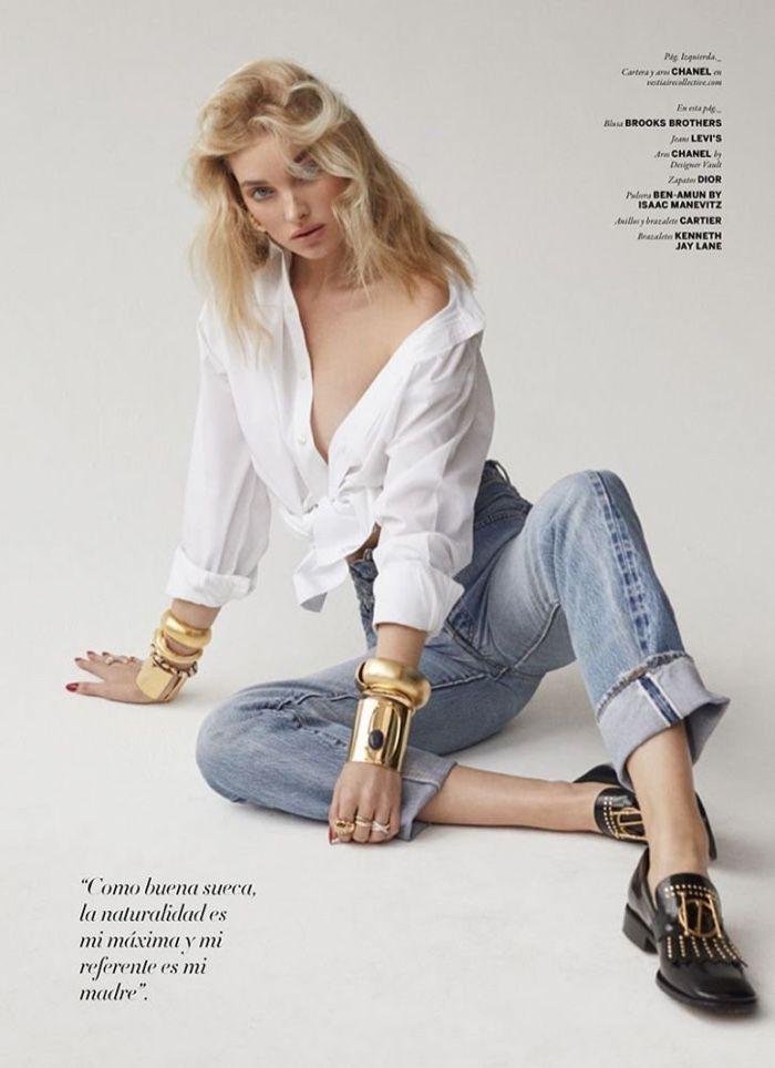 3e03fc4e71 Elsa Hosk Smolders In Zoey Grossman Images For ISSUE Magazine Fall ...