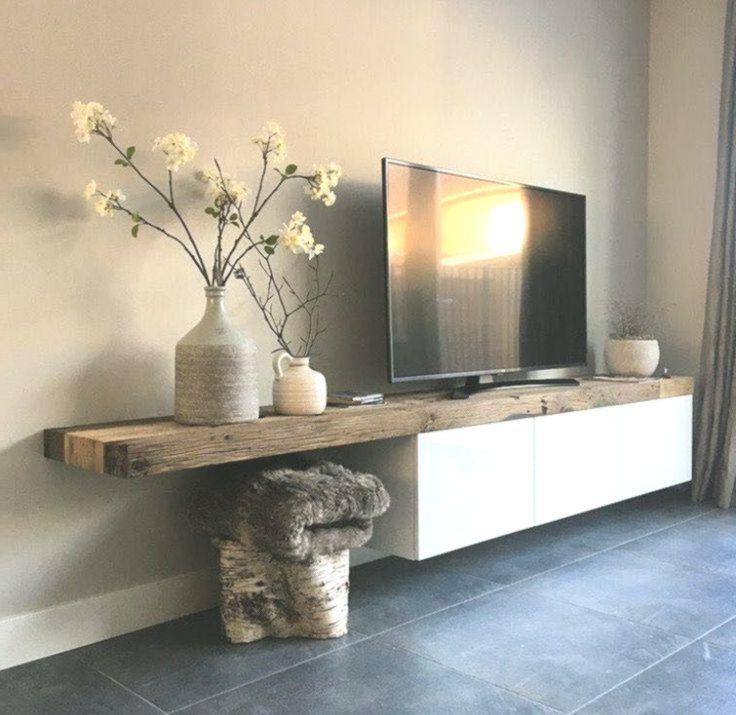 10+ DIY-TV-Ständer-Ideen, die Sie zu Hause ausprobieren können #Wohnzimmer #L …   – Wohnzimmer