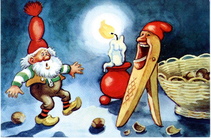 Julenisse & Nøtteknekker