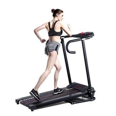 H.B.S Portable Folding Electric Running machine Motorized Treadmill