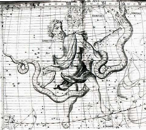 The missing Zodiac sign, Ophiuchus