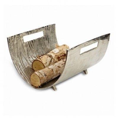 Curved Timber Log Holder