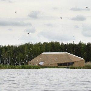 Tåkern Visitor Centre  by Wingårdhs