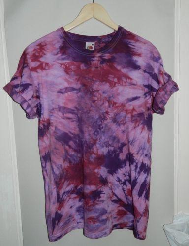 Tie-Dye-t-shirt-Grunge-VTG-90s-Oversized-Indie-Hipster-Retro-scrunch-Festival