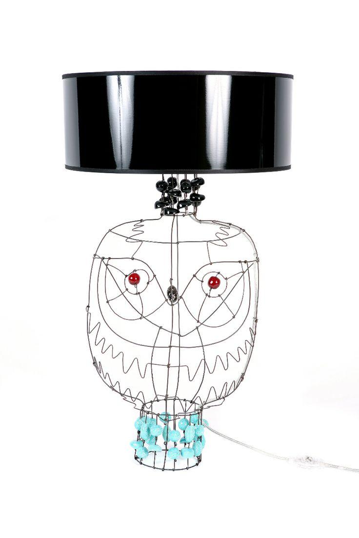 Lamp Hibou Custom Marie Christophe