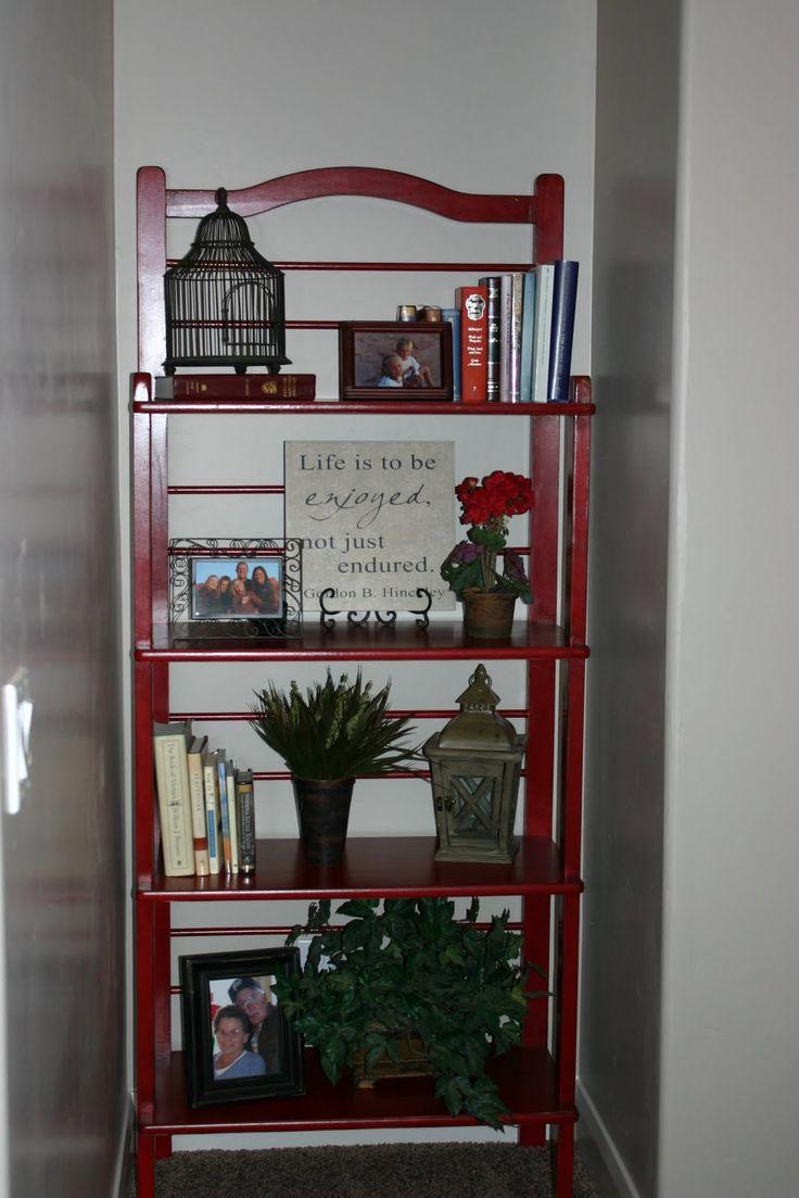 Baker S Rack Or Book Shelf Bakers Rack Decor Bakers