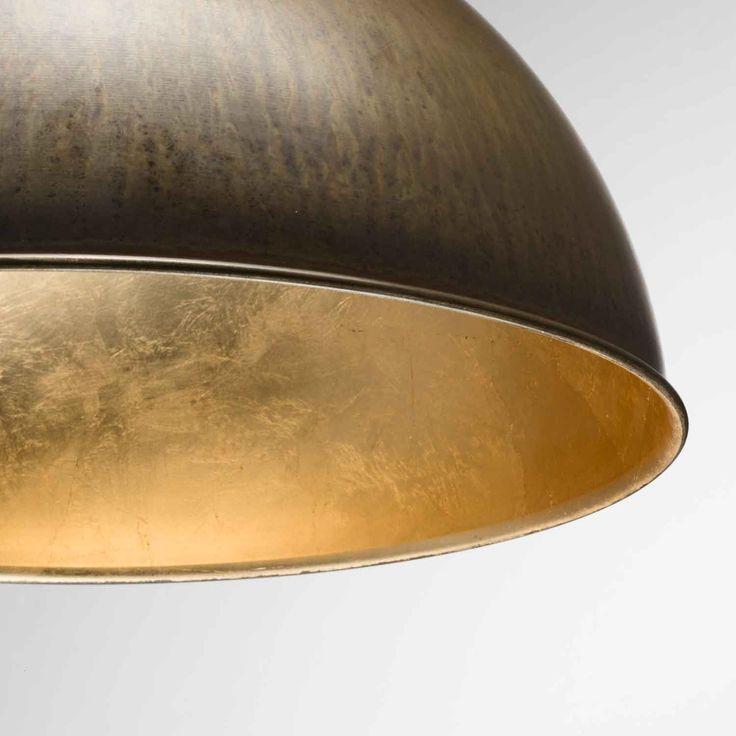 Pendant Lights : Galileo Small Pendant Brass/Gold