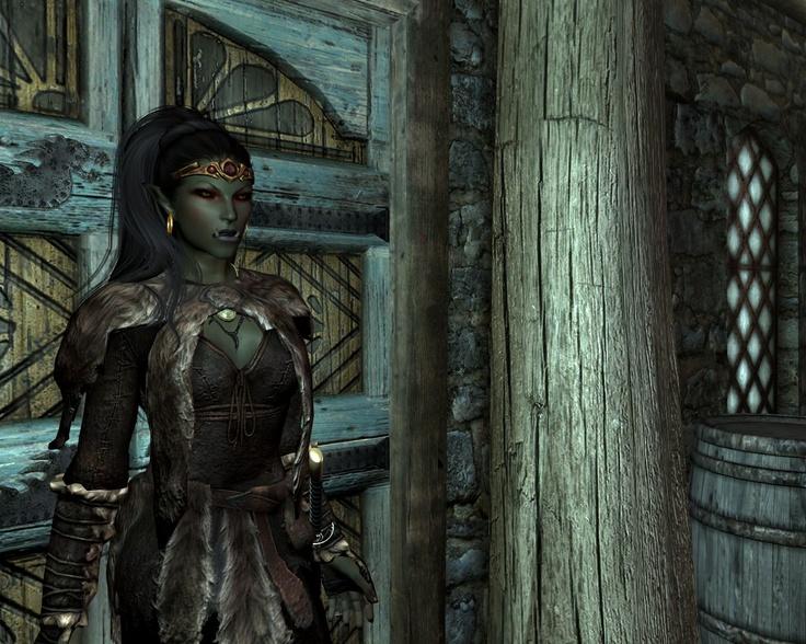 Half Orc Race at Skyrim Nexus - Skyrim mods and community