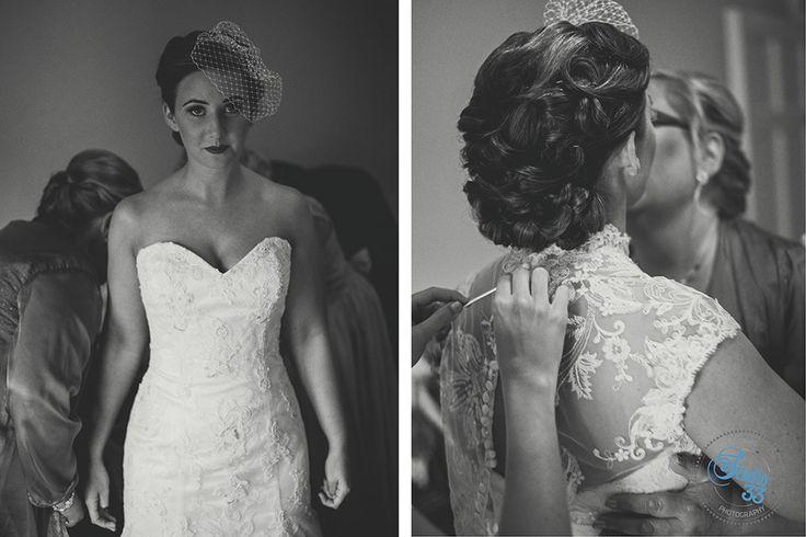 Druids Glen bride #1950style  Photographed by www.studio33weddings.com #dublinweddingphotographer #studio33weddings    #alternative #modern