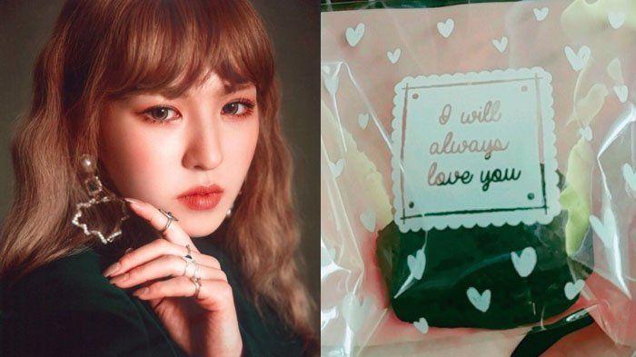 Dapat Banyak Cinta, Wendy Red Velvet Bagi-bagi Ratusan Brownies Buatan Sendiri untuk Penggemar