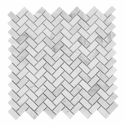 Marble Herringbone Backsplash- $11.99 per sheet
