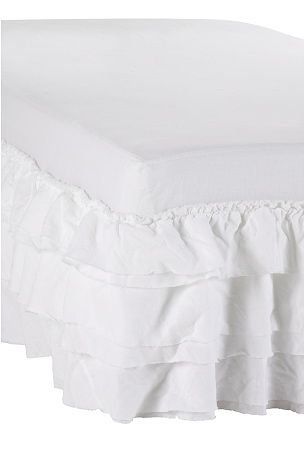 Ellos Home Bed Kappe Fairy in cotton with ruffles