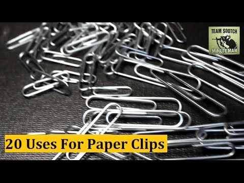 20 Paper Clip Hacks for Survival & Everyday Uses