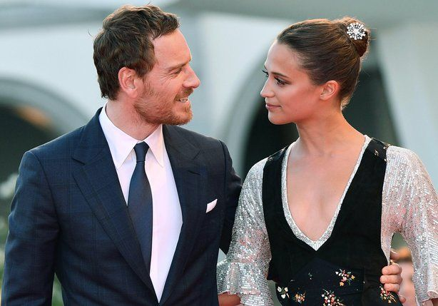 "Irish actor Michael Fassbender has said he was ""kind of scared"" when his girlfriend Alicia Vikander got a part alongside him in their first movie together."