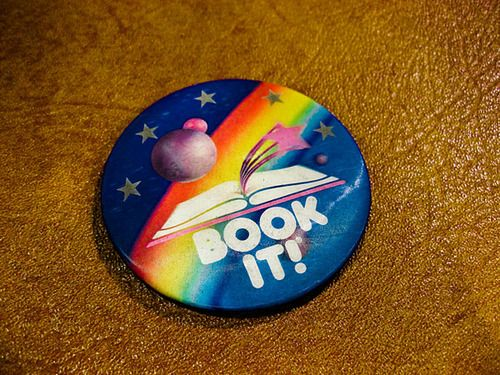 Book It!! I loved wearing the button on my jacket!