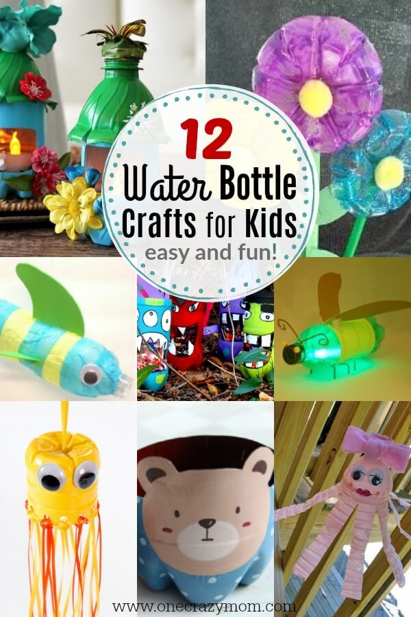 Water Bottle Crafts For Kids 12 Water Bottle Crafts That Are Fun