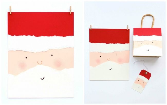 40новогодних открыток, которые можно сделать заполчаса