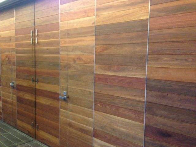 Feature Wall with Quantum Timber Finishes TIMBREPLUS INTERIOR