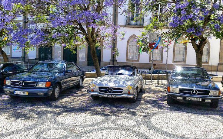 Mercedes Benz #190SL in Aveiro, Portugal / Mercedes Club Portugal Spo . Pic via instagram (jakub.kacki) / #190SLRestorations #BruceAdams190SL