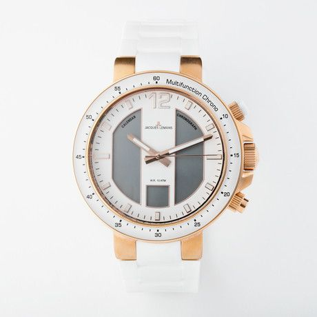 Jacques Lemans Milano Quartz// 1-1726E