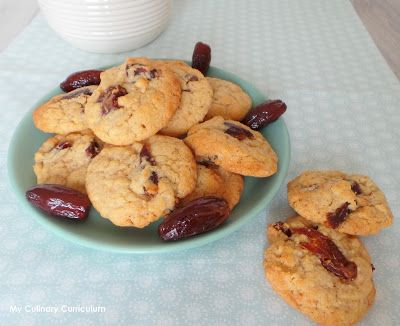 My Culinary Curriculum: Cookies aux dattes (Cookies with dates)