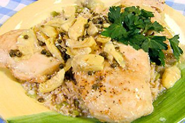 ... Capers on Pinterest | Chicken piccata, Grilled halibut and Artichoke