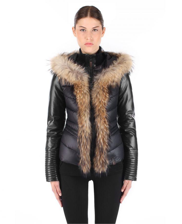 Women's Coats with Fur Trim