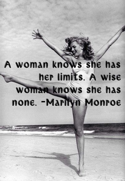 #Marilyn_Monroe #Quote