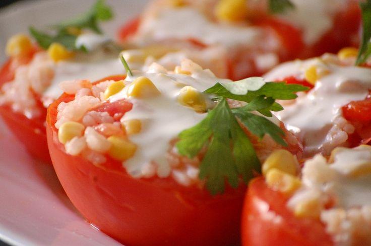 Tomates Rellenos | Recetas Veganas Fáciles | Veganismo y cocina vegetariana