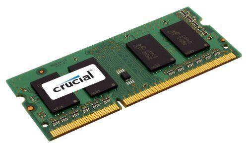 Crucial CT25664BC1067 2GB 204-PIN PC3-8500 SODIMM DDR3 Memory Module