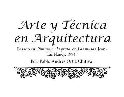 """""""Arte y técnica en arquitectura"""" http://on.be.net/1F9oWN5"""