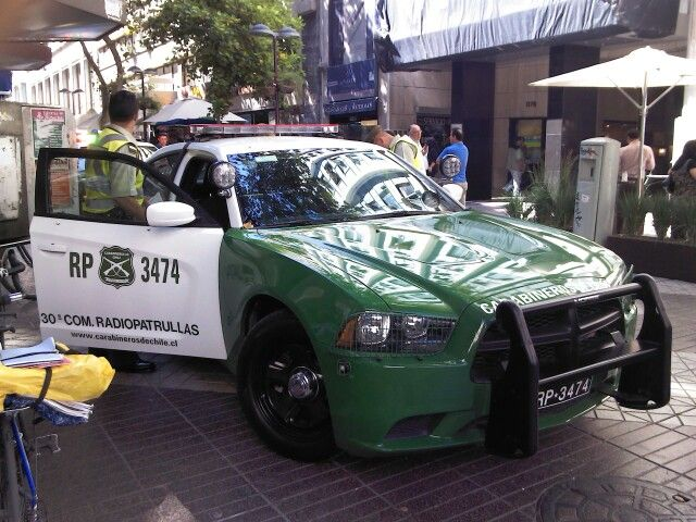 Dodge Charger Police car - Carabineros de Chile