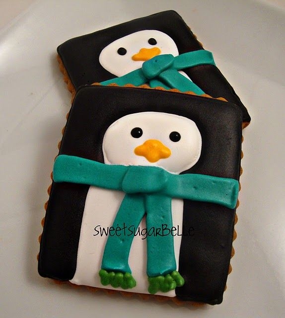 Penguin cookies.